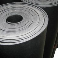 Fluorine rubber sheets